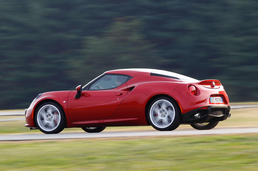 4C's turbocharged engine delivers plenty of torque