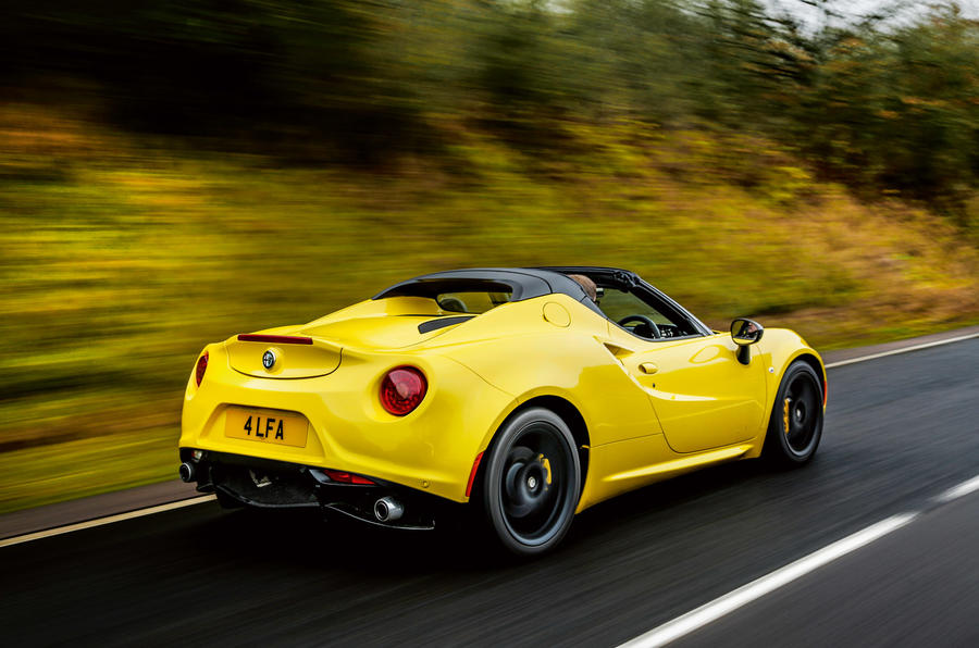 Alfa Romeo 4C Spider rear
