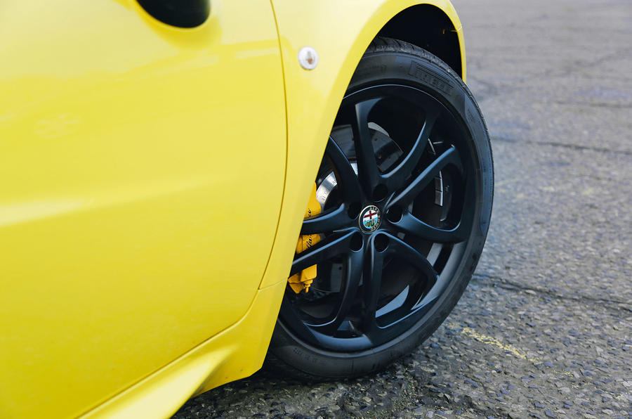 Alfa 4C Spider 17in alloys