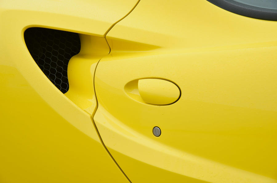 4C Spider air intakes