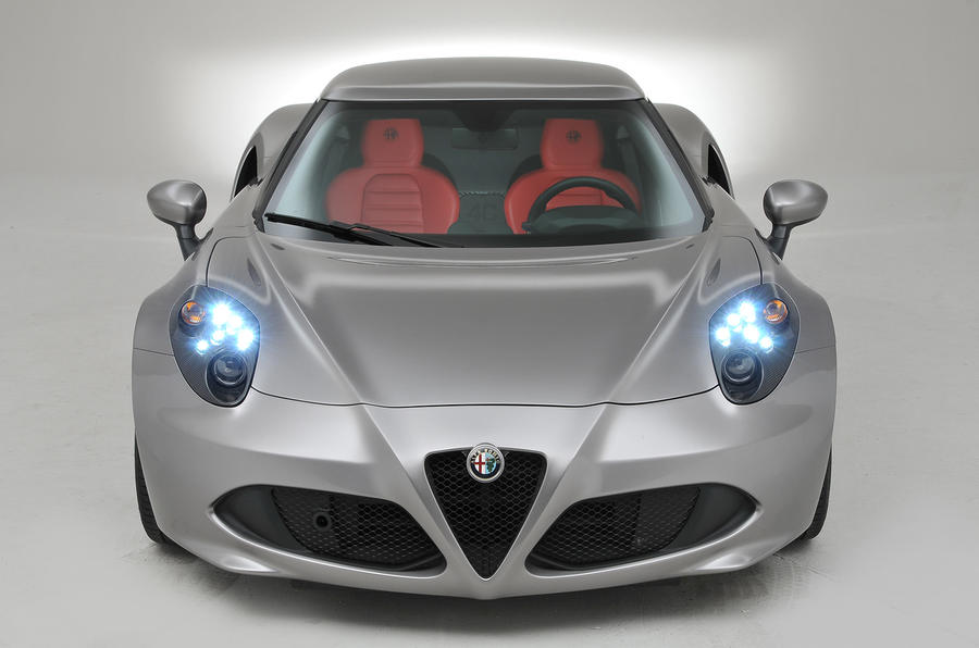 Alfa Romeo 4C to inspire future designs