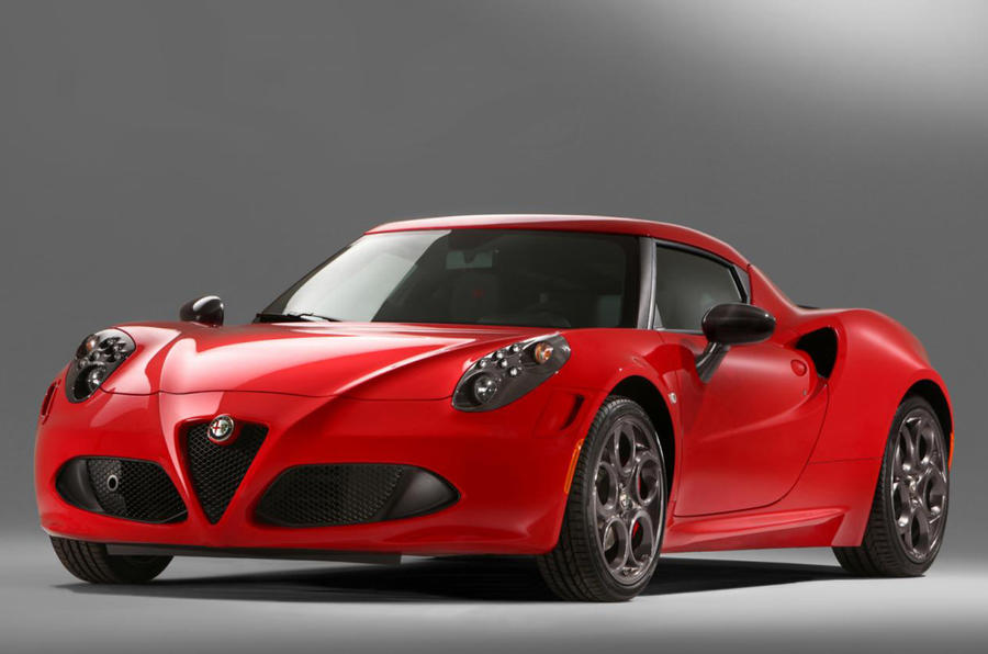 Alfa Romeo 4C Launch Edition - latest pics