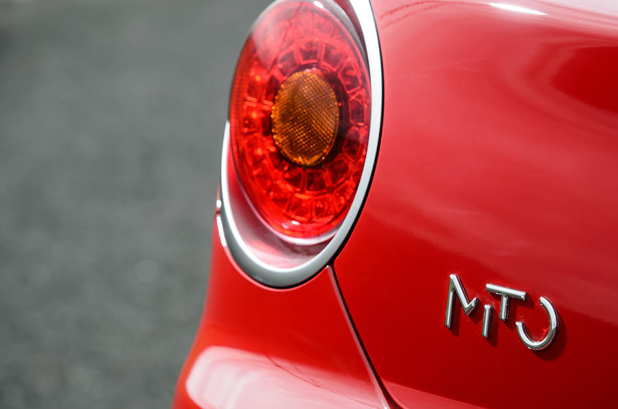 Alfa Romeo Mito TwinAir rear lights