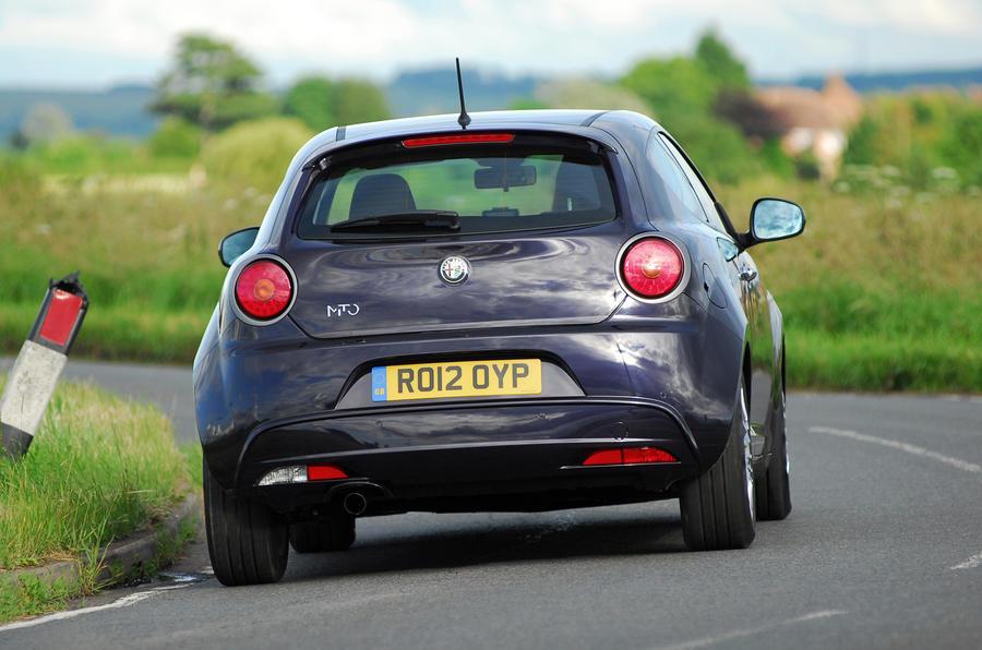 Alfa Romeo Mito rear cornering