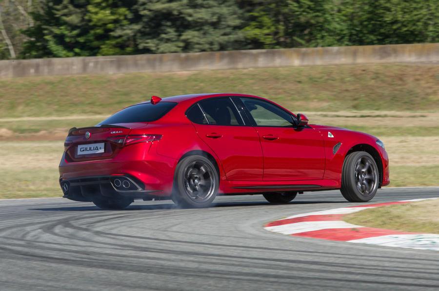 Alfa Romeo Giulia Quadrifoglio rear