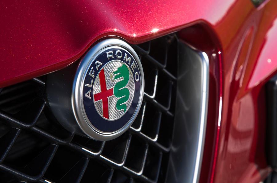 New Alfa Romeo badging
