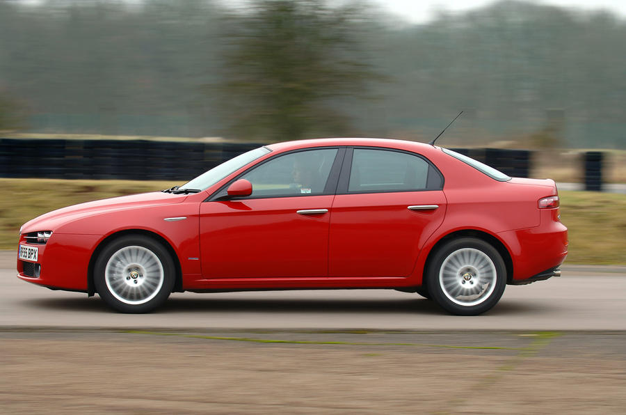 Alfa Romeo 159 side profile