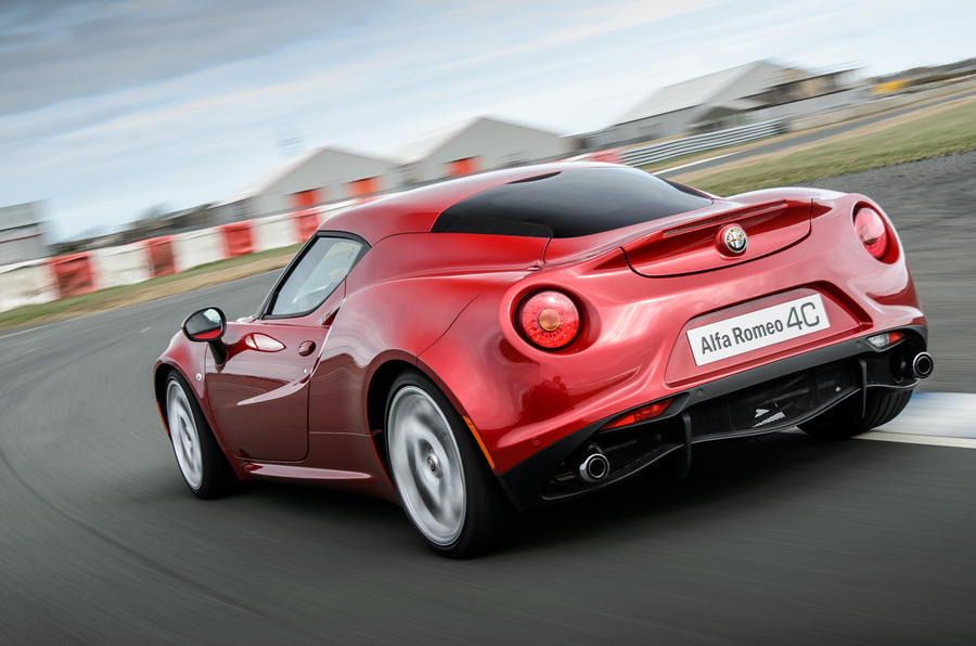 Ten minutes behind the wheel of an Alfa Romeo 4C