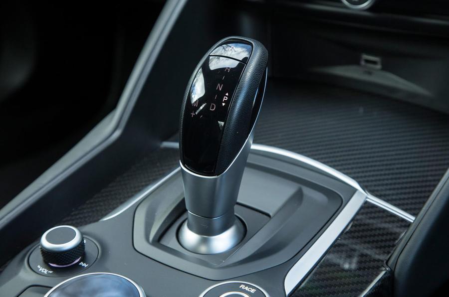 Alfa Romeo Giulia Quadrifoglio automatic gearbox