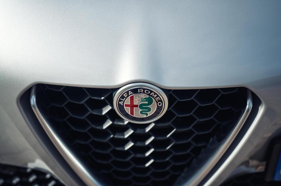 Alfa Romeo Giulia front grille