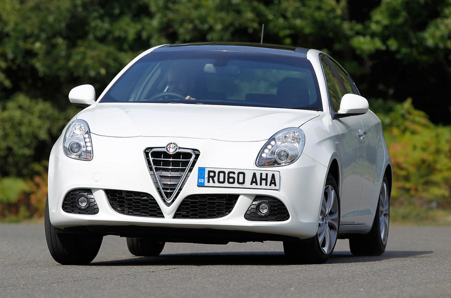 Not quite a Focus-beater the Alfa Giulietta