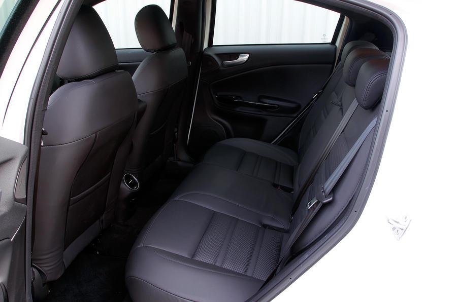 Alfa Romeo Giulietta's rear cabin