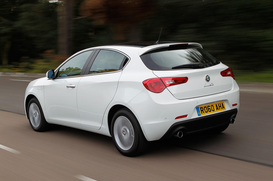 Alfa Romeo Giulietta is a dynamic package