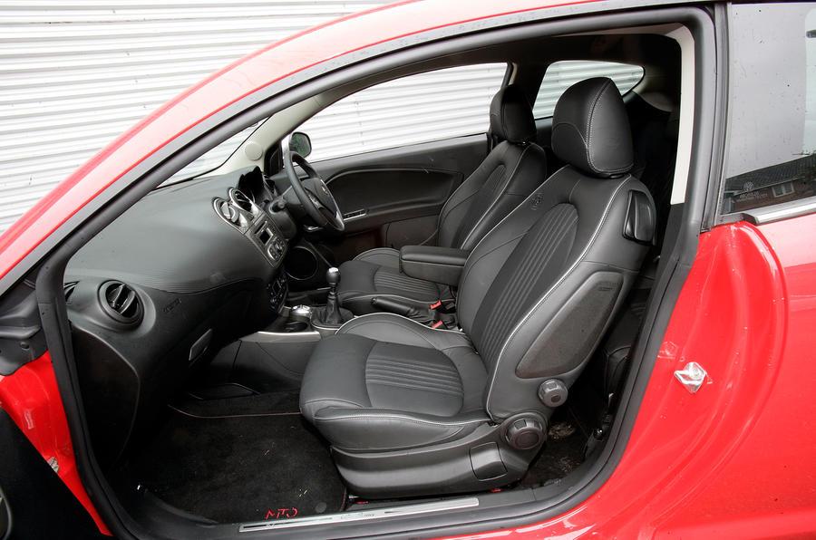 Alfa Romeo Mito's dashboard