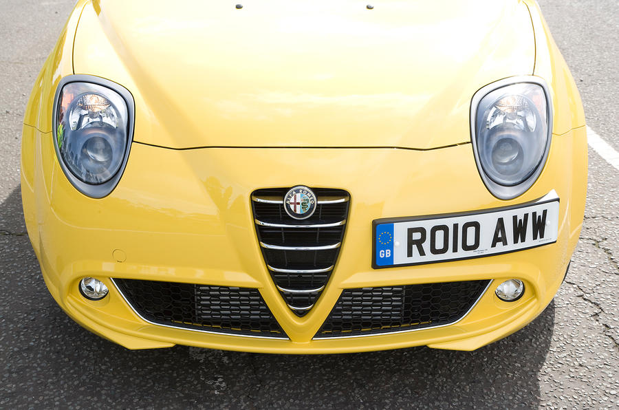 Alfa Romeo Mito Cloverleaf front grille