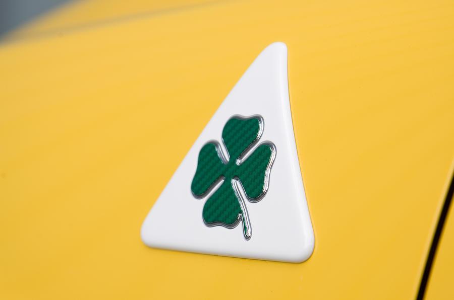 Alfa Romeo Mito Cloverleaf badging