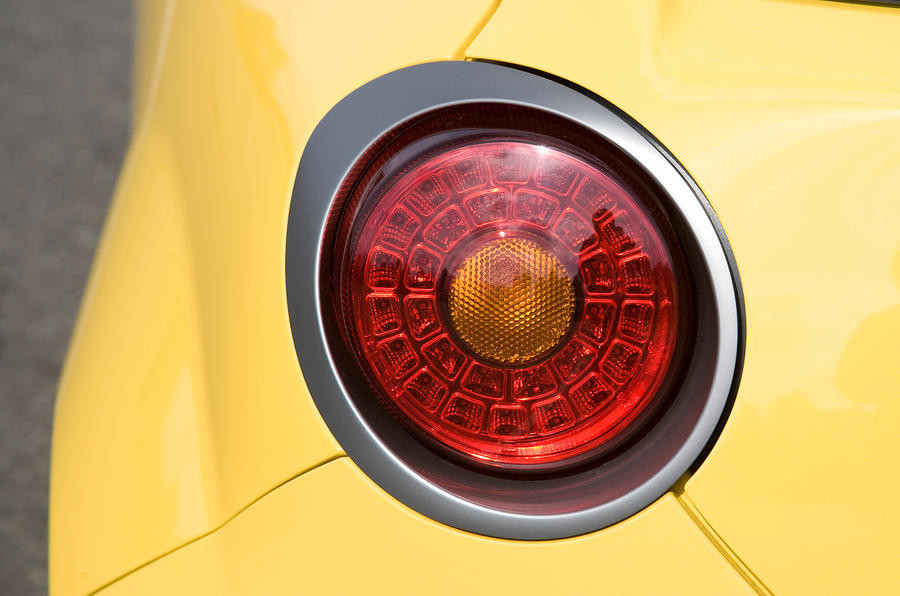 Distinctive Alfa Mito rear lights
