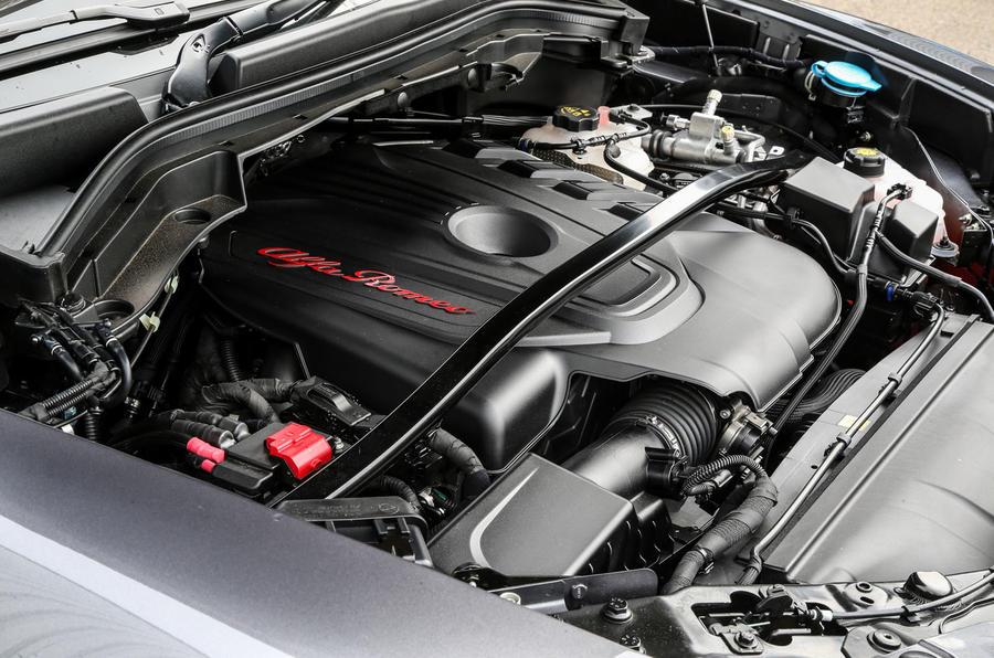 2.2-litre Alfa Romeo Stelvio diesel engine