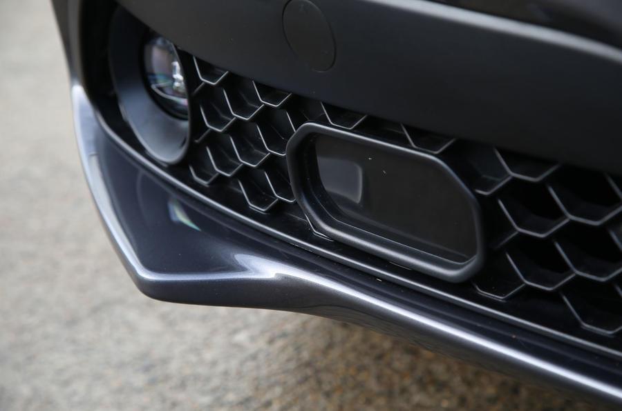 Alfa Romeo Stelvio front radar sensor