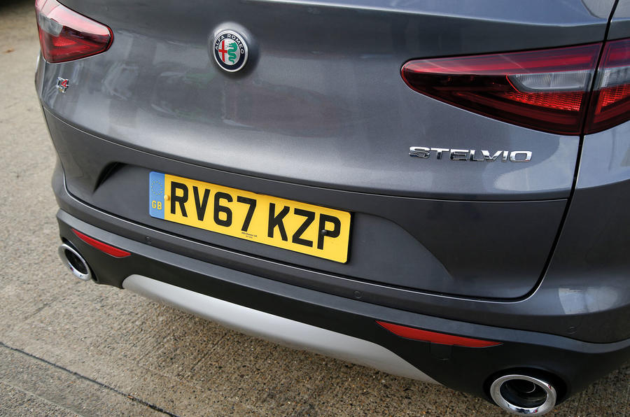Alfa Romeo Stelvio rear end