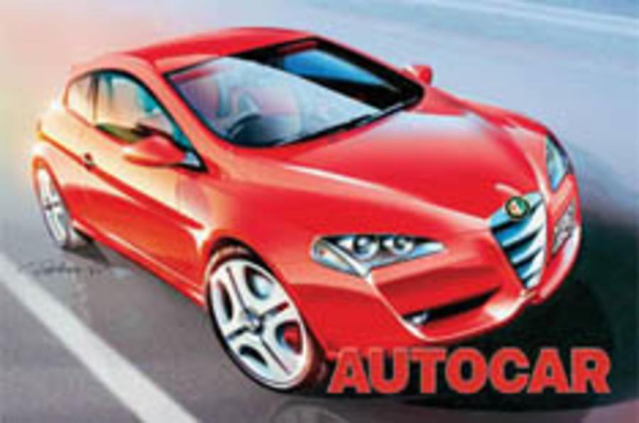 Alfa's sporty new Mini rival scooped
