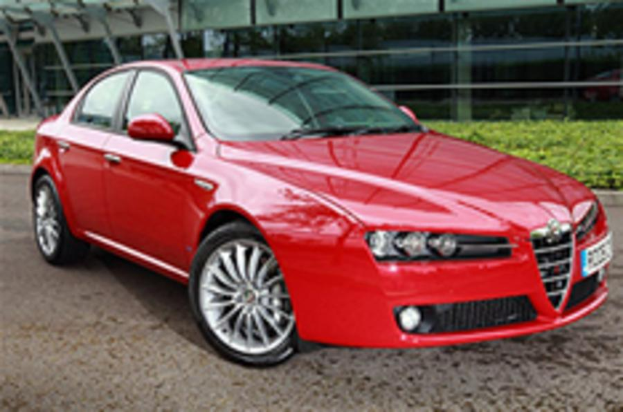 Two new Alfa Romeo 159s