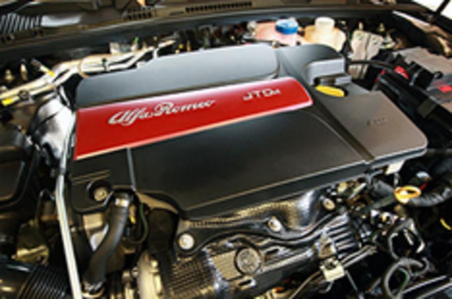 Alfa denies V8 engine plans
