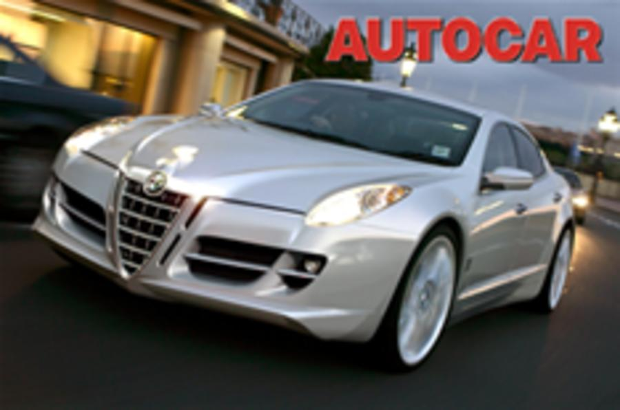 Alfa 169 switches to rear-drive