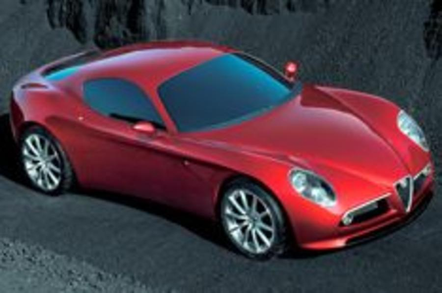 Alfa reborn with a rear drive 410bhp supercar