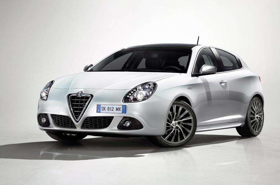 Giulietta's UK Goodwood launch