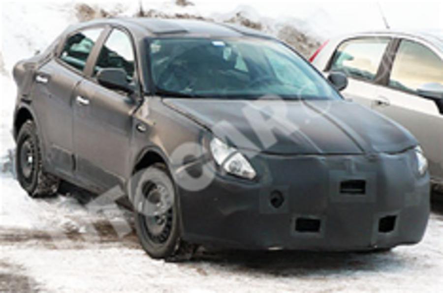 Alfa Romeo Milano caught testing