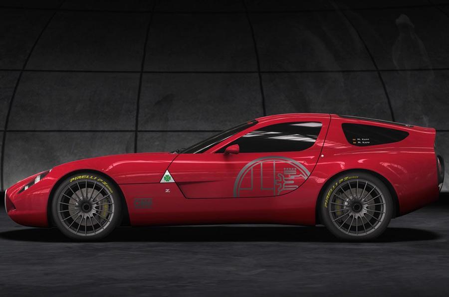 One-off Alfa Zagato revealed