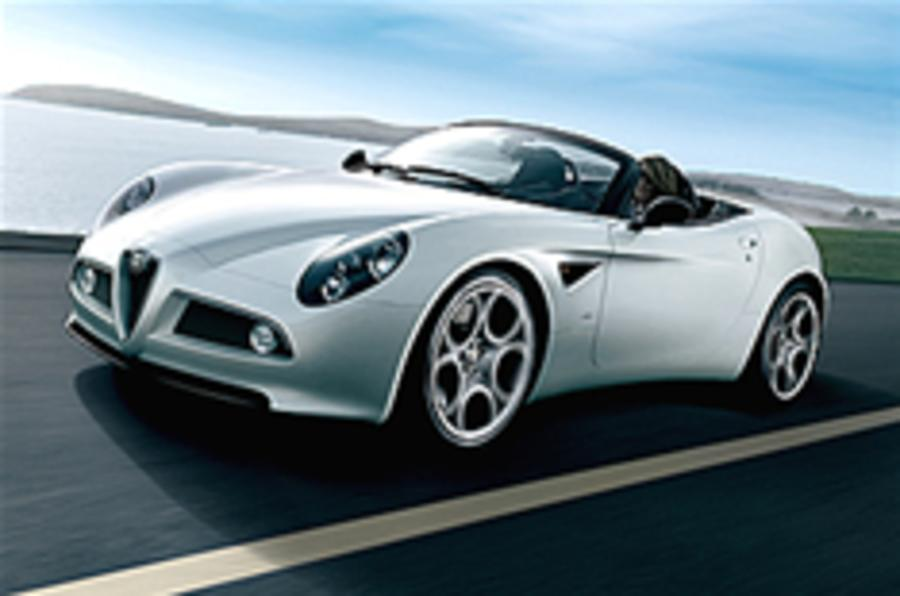 New Alfa 8C uncovered