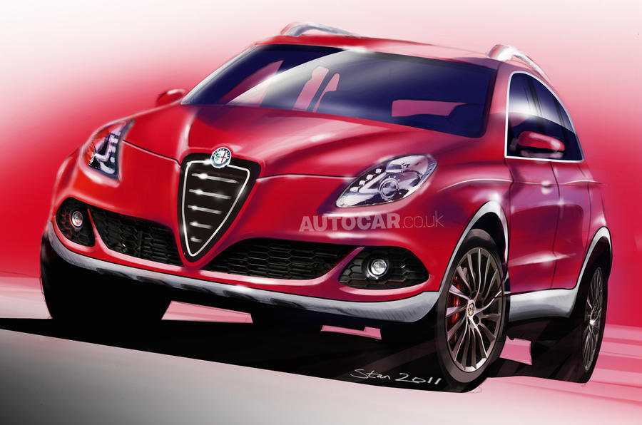 Alfa pins hopes on sporty SUV
