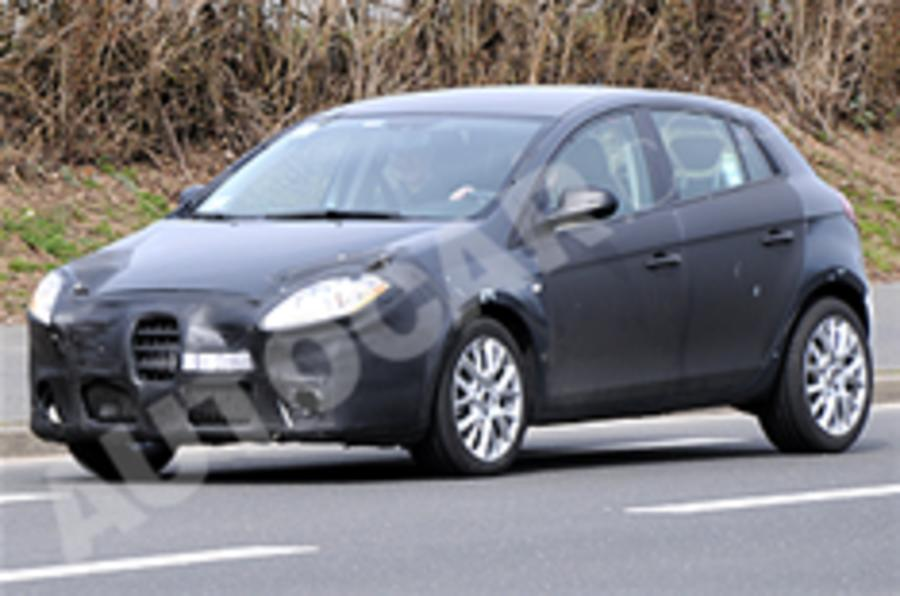 New Alfa 149 spied testing