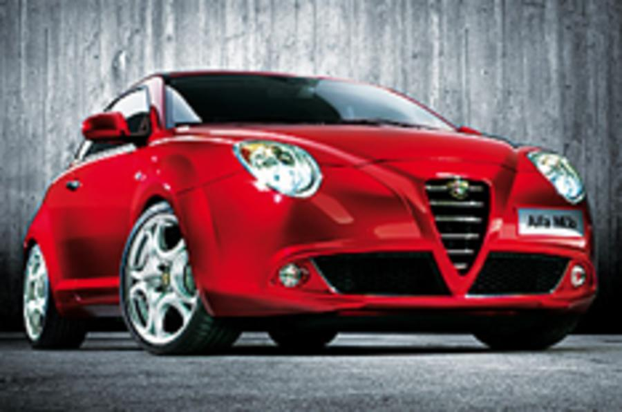 Alfa Mito hatchback unveiled
