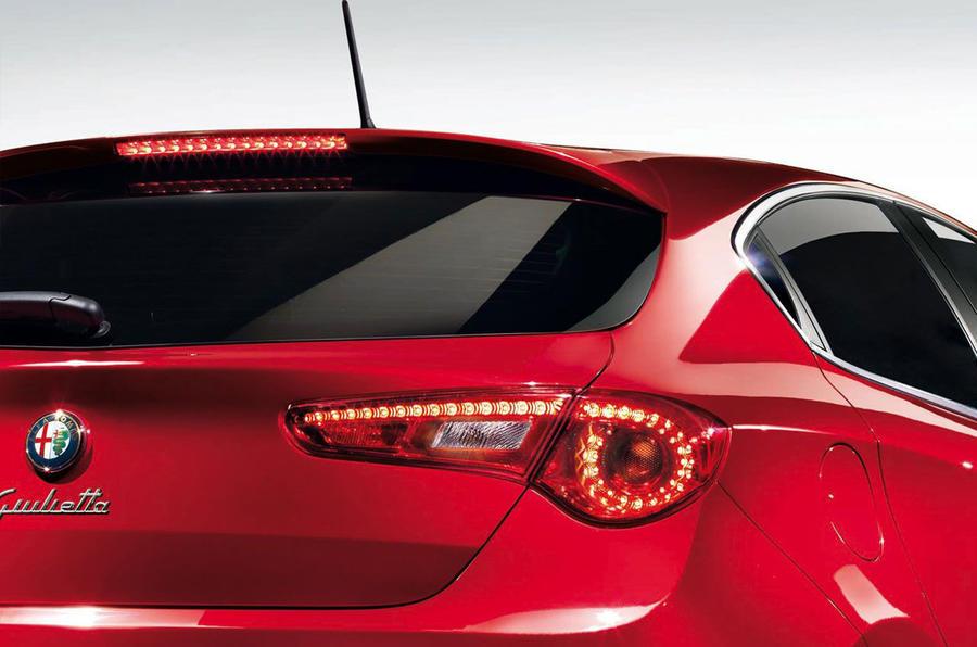 Alfa's 'practical' Giulietta