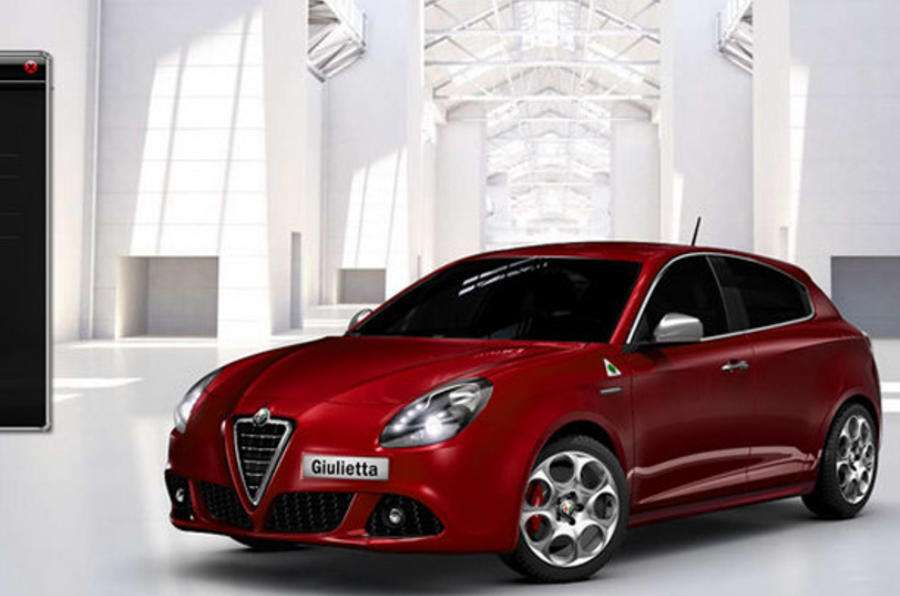 Spec your Alfa Giulietta