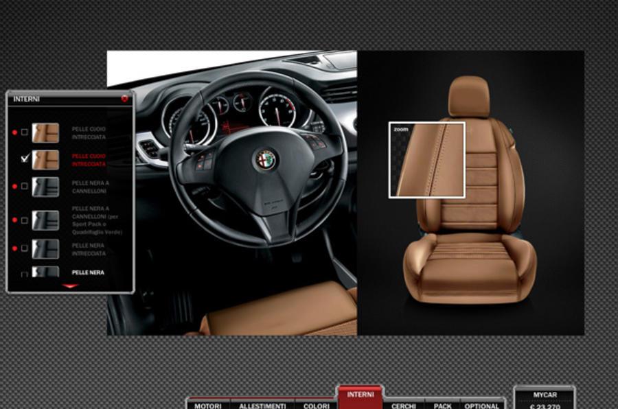 Spec your Alfa Giulietta