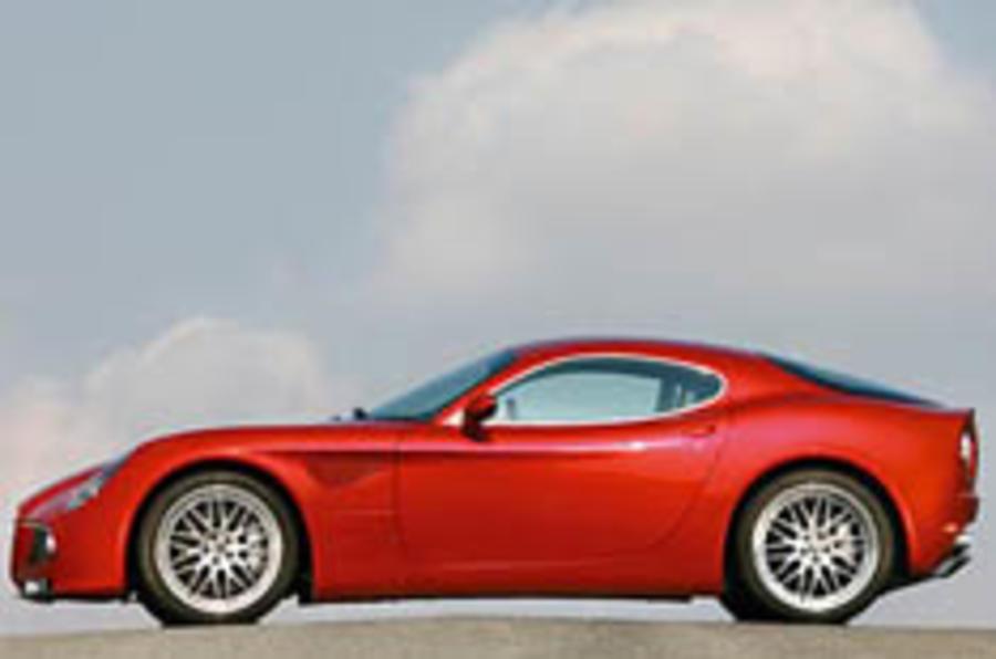Alfa's 8C Competizione breaks cover