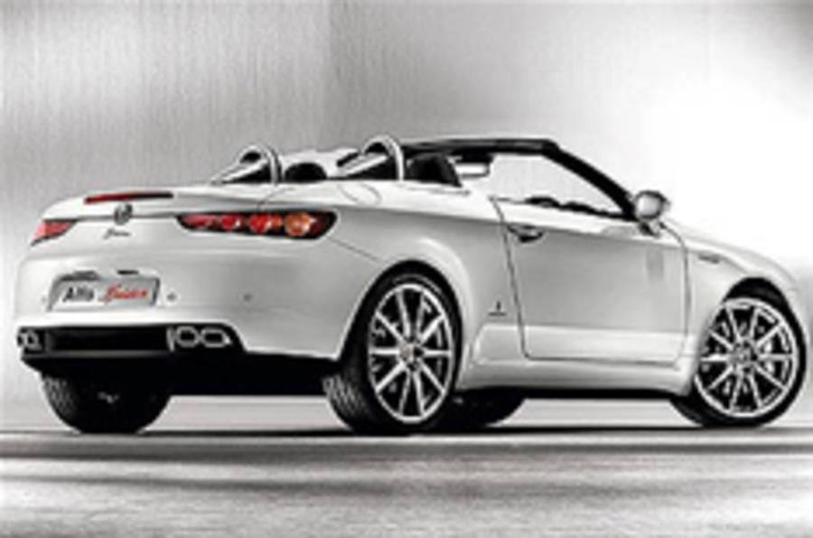 Alfa Romeo Spider goes exclusive