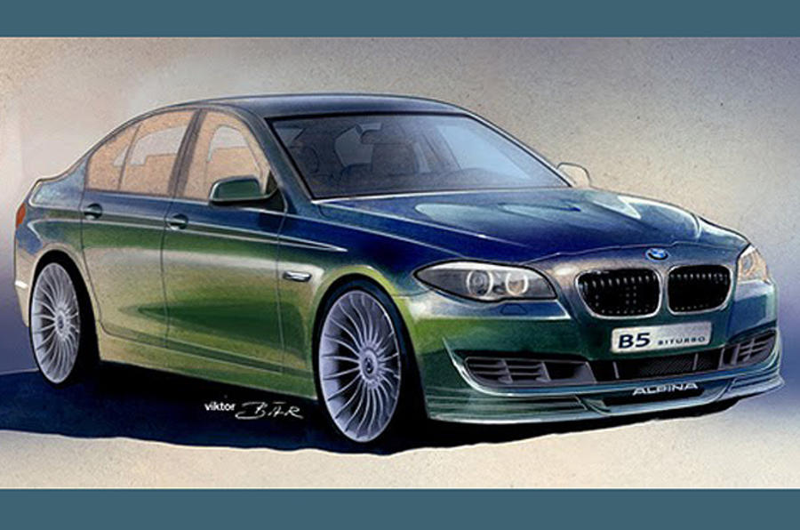 New BMW Alpina B5: first pic