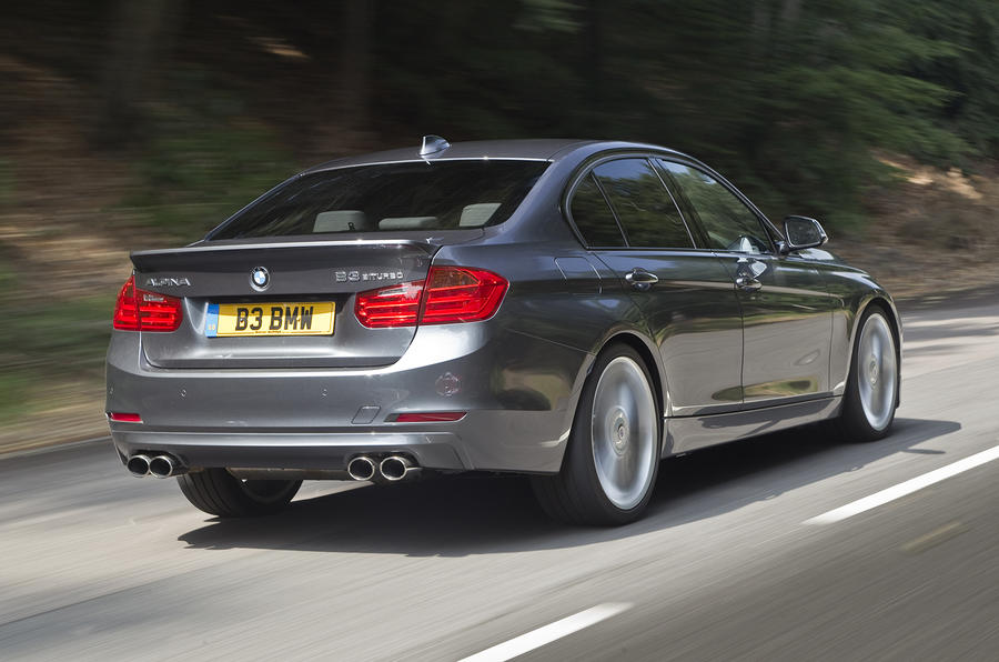 The compliant Alpina B3 Biturbo