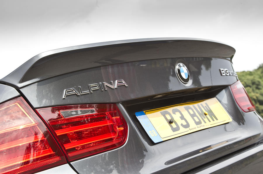 Subtle spoiler on Alpina B3