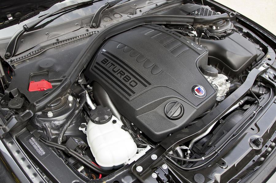 Alpina B3 Biturbo Performance Autocar