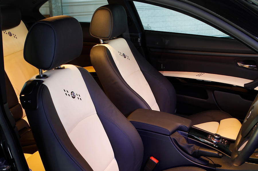Front seats in the Alpina B3 S