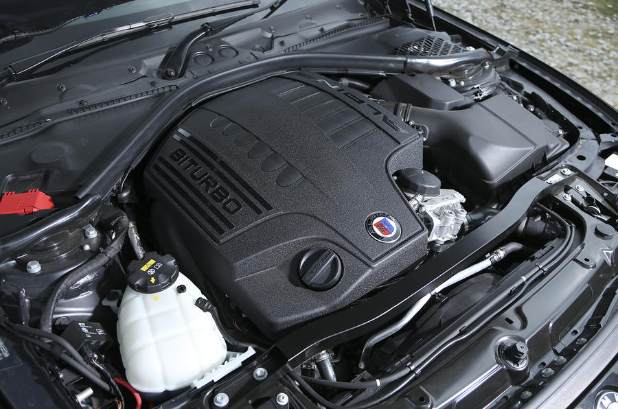 Alpina B4's 404bhp 3.0-litre engine