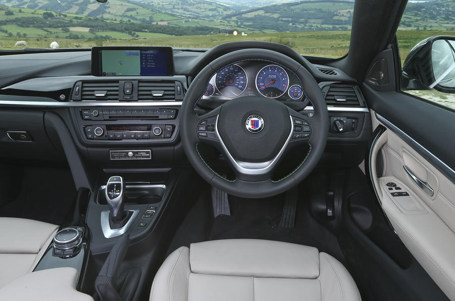 Alpina B4 Biturbo's interior