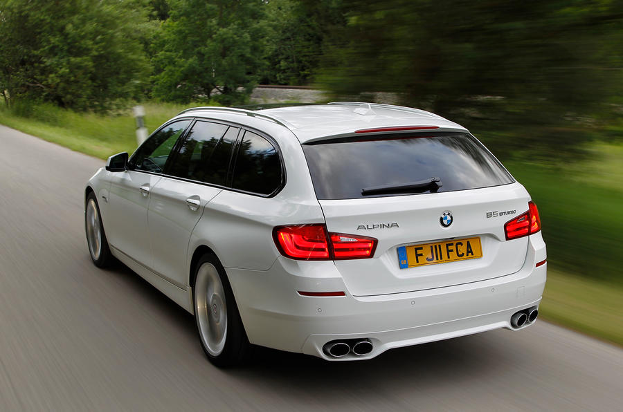 Alpina B5 comes in estate form