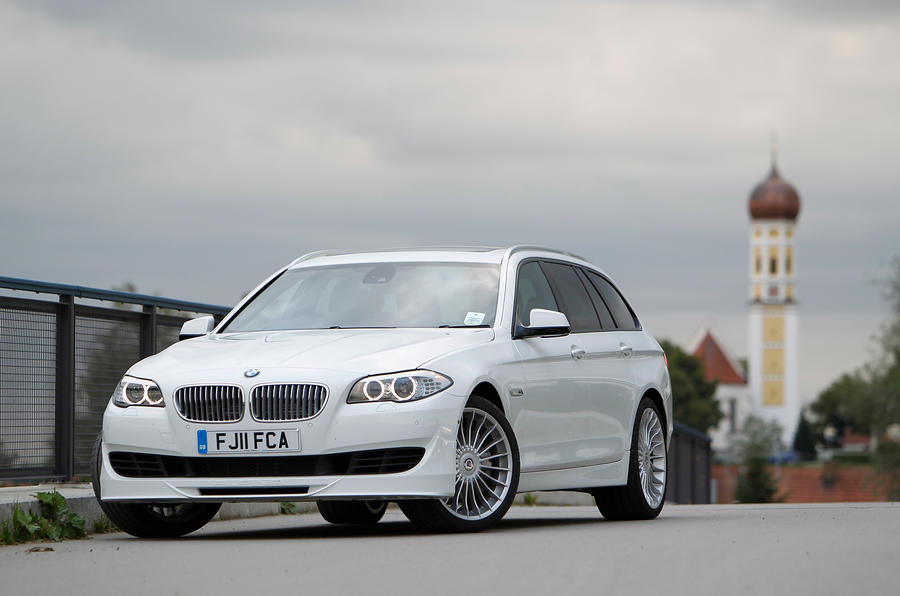 Alpina B5 is softer than the BMW M5